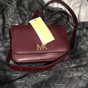 Mk leather belt bag